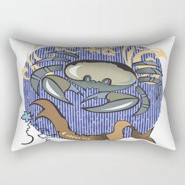 Cancer zodiac Rectangular Pillow