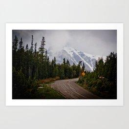 The back roads Art Print