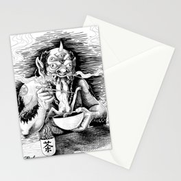 Demon Eating Stationery Cards