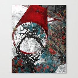 Basketball artwork 28 swoosh Canvas Print