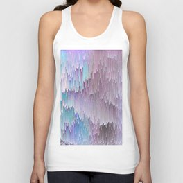 Cold Glitches Unisex Tank Top