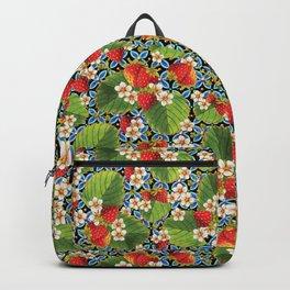Strawberry Heraldic Backpack