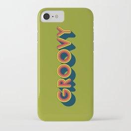Groovy iPhone Case
