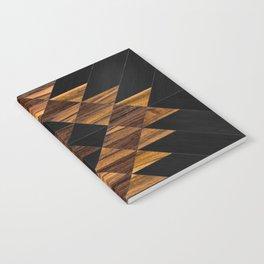 Urban Tribal Pattern 11 - Aztec - Wood Notebook
