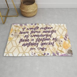 Steel Magnolias Movie Quote Three Minutes of Wonderful Shelby Rug