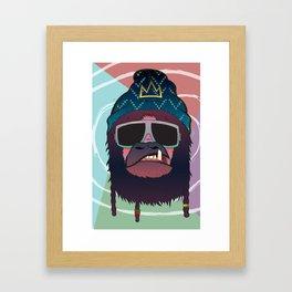 King L Framed Art Print