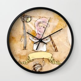 HEAD HUNTING- V Wall Clock