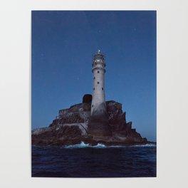 (RR 293) Fastnet Rock Lighthouse - Ireland Poster