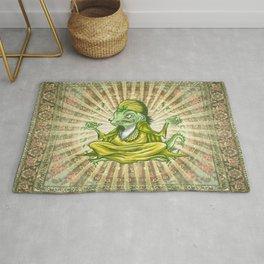 The Iguana Guru Rug
