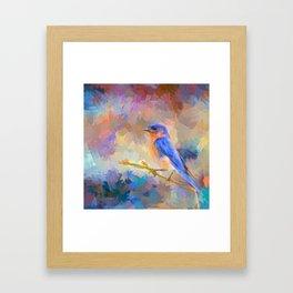 Bring On The Bluebirds Framed Art Print