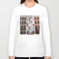 house of cards Long Sleeve T-shirts featuring House of Cards by AdamSteve