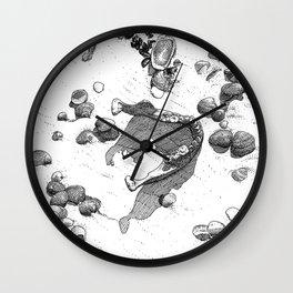 asc 894 - Les dents de la mer (Burial at sea) Wall Clock
