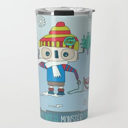 This is not a Monster Christmas Travel Mug