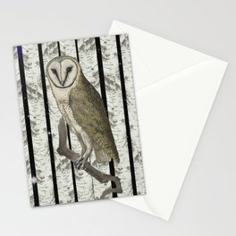 An owl look out Stationery Cards
