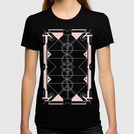 Art Deco - Neutral Pink T-shirt