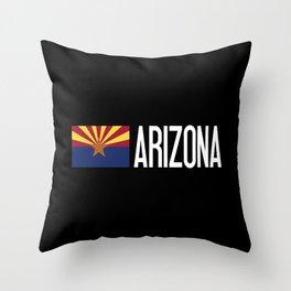 Arizona: Arizonan Flag & Arizona Throw Pillow