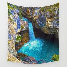 Stanley Waterfall & Beauty Creek, Jasper National Park Wall Tapestry
