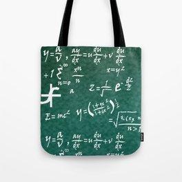 Math Equations Tote Bag