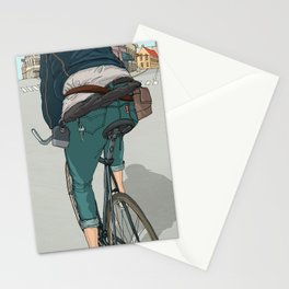 City traveller Stationery Cards