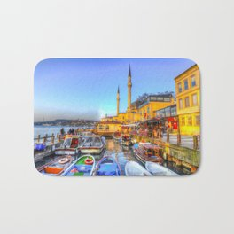 Picturesque Istanbul Bath Mat