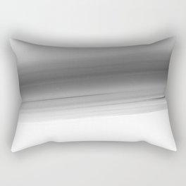 Gray Smooth Ombre Rectangular Pillow
