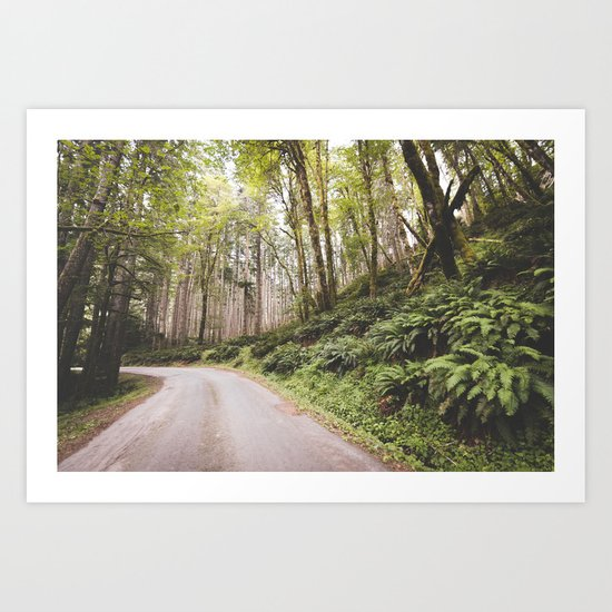 The Road to Olympia Art Print