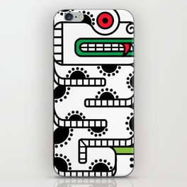Koru-Fern Serpent iPhone Skin