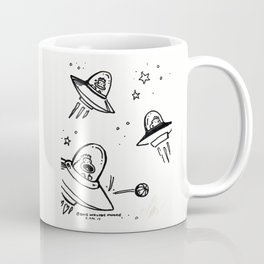 UFO Apes Play Ball Coffee Mug
