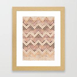 over and over Framed Art Print