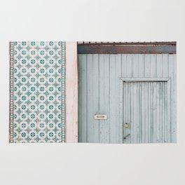The mint door Rug