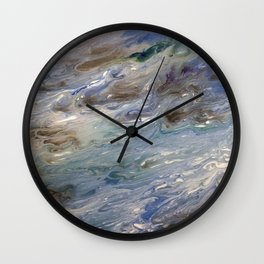 Hexacoral Wall Clock