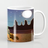 camping Mugs featuring Camping by plopezjr