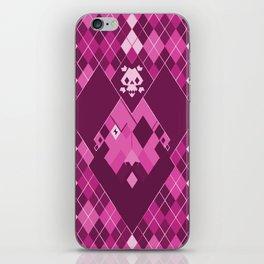 Arrrrrgyle - Pink iPhone Skin