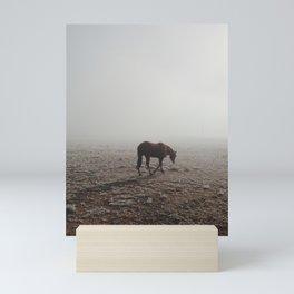 Fogged Horse Mini Art Print