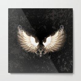Light wings Metal Print