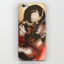 M J iPhone Skin