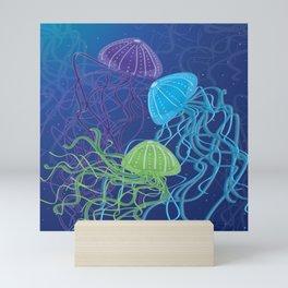 Ethereal Jellies Mini Art Print