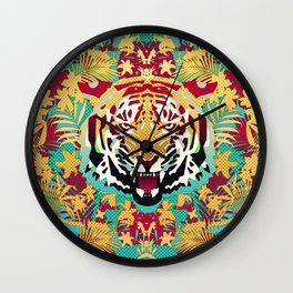 Tiger 2 Wall Clock