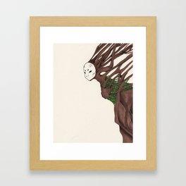 Personal Demon: Claustrophobia Framed Art Print