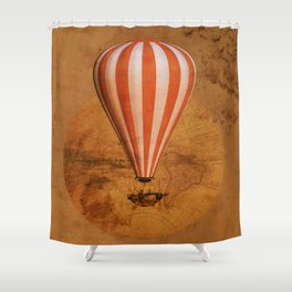 Bygone era Shower Curtain