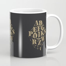 Type Splatt Coffee Mug
