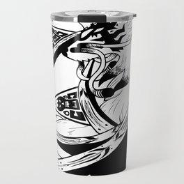 Cryptic Wolf Travel Mug