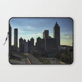 Evening Skyline of Atlanta Laptop Sleeve