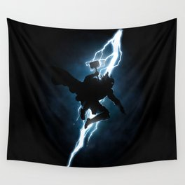 The Thunder God Returns Wall Tapestry