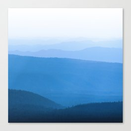 Blue Smoky Mountains Canvas Print