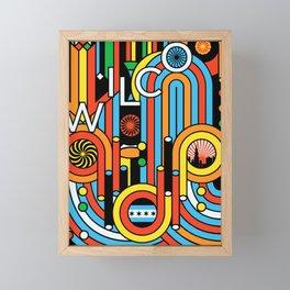 wilco best tour 2019 maupulang Framed Mini Art Print