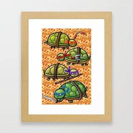 Teenage Ninja Turtles Framed Art Print