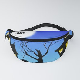 Blue Sky Of Nightmare Fanny Pack