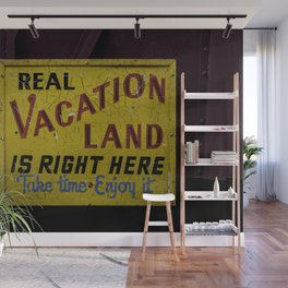 Staycation Wall Mural