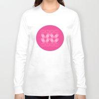 blur Long Sleeve T-shirts featuring Cross Blur by MJ Mor